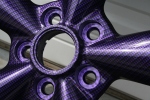 Purple Carbon Fiber